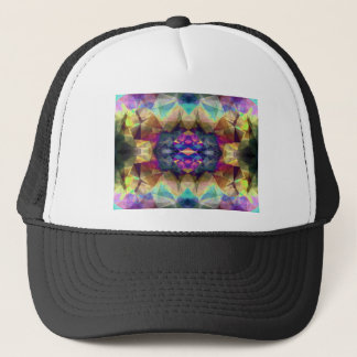 Abstract Symmetrical Coloration Trucker Hat