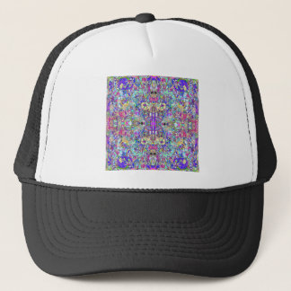 Abstract Symmetrical Colors Trucker Hat