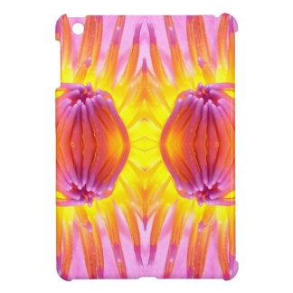 Abstract symmetrical Lotus iPad Mini Cover