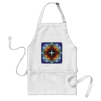 Abstract Symmetry of Colors Adult Apron