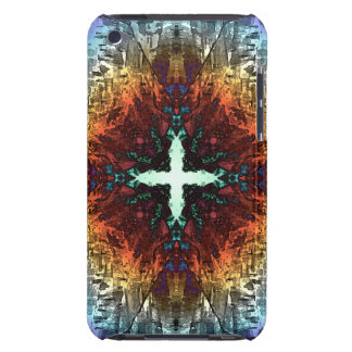 Abstract Symmetry of Colors Barely There iPod Case