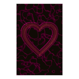 Abstract Tainted Love Poster