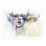 abstract tarjeta postal