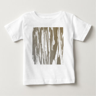 Abstract Taupe Splash Design Baby T-Shirt
