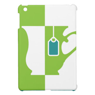 Abstract teacup iPad mini covers