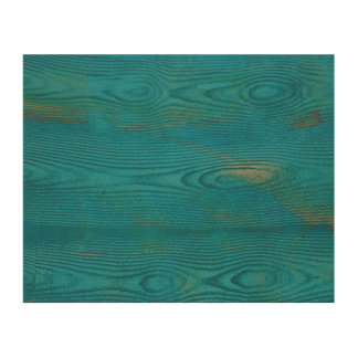 Abstract teal blue wood texture Wood canvas