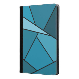 Abstract Teal Polygons iPad Air Case