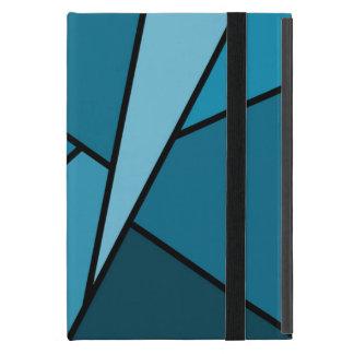 Abstract Teal Polygons iPad Mini Case