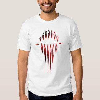 Abstract Teeth T Shirt