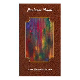Abstract - Tempera - Night Fall Business Card