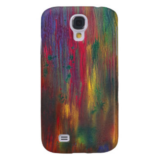 Abstract - Tempera - Night Fall Samsung Galaxy S4 Cases