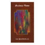 Abstract - Tempera - Night Fall.jpg Double-Sided Standard Business Cards (Pack Of 100)