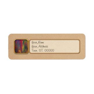 Abstract - Tempera - Night Fall.jpg Custom Return Address Label