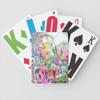 Abstract Terrains and Landscapes Playing Cards