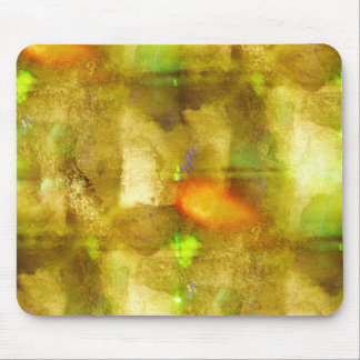 abstract texture color seamless brown, green mouse pad