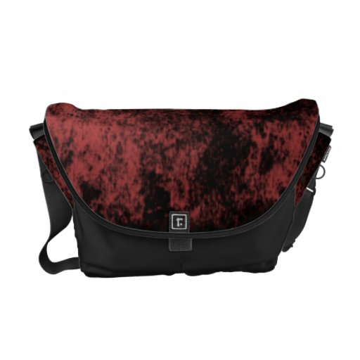 Abstract texture courier bag