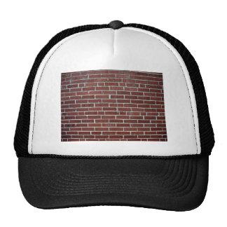Abstract Texture Of Maroon Brick Wall Trucker Hat