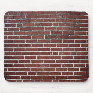 Abstract Texture Of Maroon Brick Wall Mouse Pad