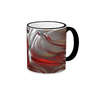 Abstract Texture Ringer Mug