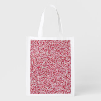 Abstract Texture Reusable Grocery Bag