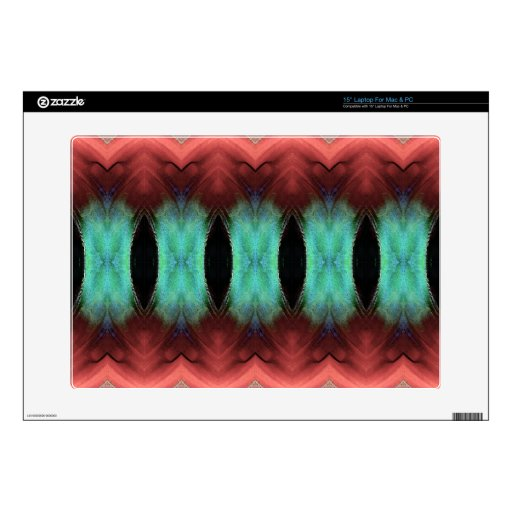 Abstract Textured Form Laptop Skin