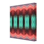 Abstract Textured Form Stretched Canvas Print