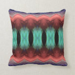 Abstract Textured Form Throw Pillow