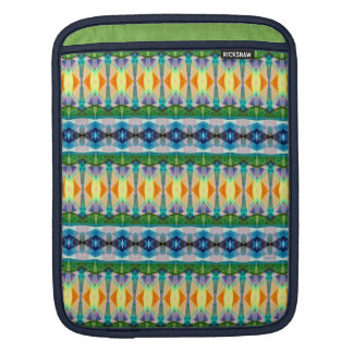 Abstract Textured Pattern Sleeves For iPads