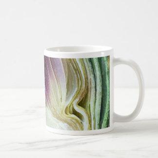 Abstract Textures Artichoke Profile Coffee Mug