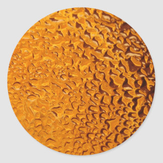 Abstract Texture's Classic Round Sticker
