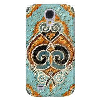 Abstract texturised look iPhone Case design Samsung Galaxy S4 Cover