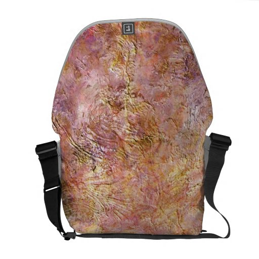 Abstract Texturize 4 TPD Messenger Bag