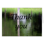Abstract-Thank you Greeting Card