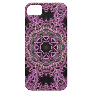 Abstract Thistle Flower Pattern Iphone 5 Case