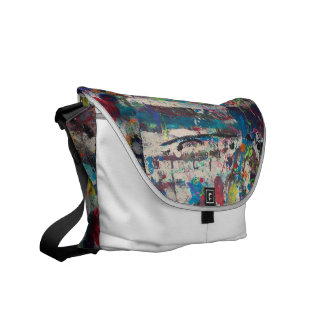 abstract thoughts courier bag