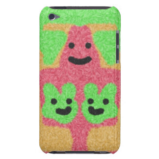 abstract three face pattern Case-Mate iPod touch case
