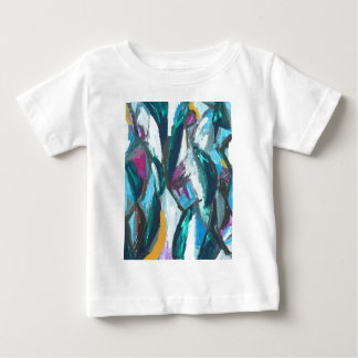 Abstract Three Graces (abstract expressionism) Baby T-Shirt