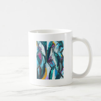 Abstract Three Graces (abstract expressionism) Coffee Mug