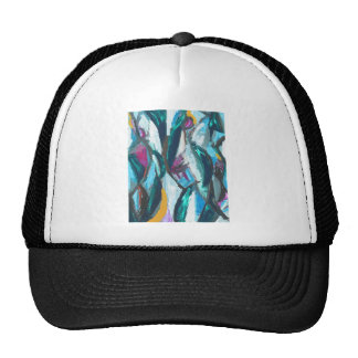 Abstract Three Graces (abstract expressionism) Trucker Hat