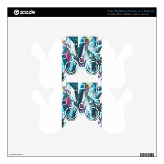 Abstract Three Graces (abstract expressionism) PS3 Controller Decal