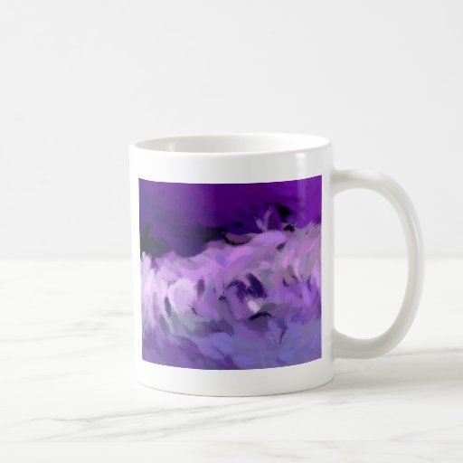 Abstract Tidal Wave Classic White Coffee Mug
