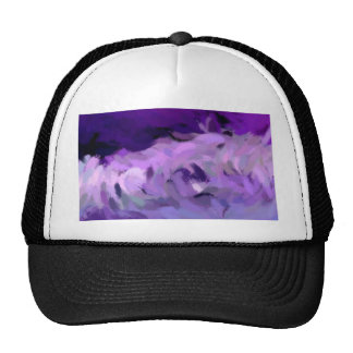 Abstract Tidal Wave Trucker Hat