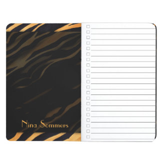 Abstract Tiger Print Journal