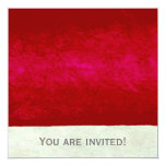 Abstract Times Two ~  Invitations