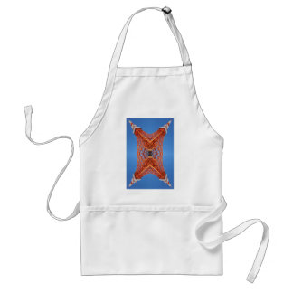 Abstract Tokyo tower pattern Adult Apron