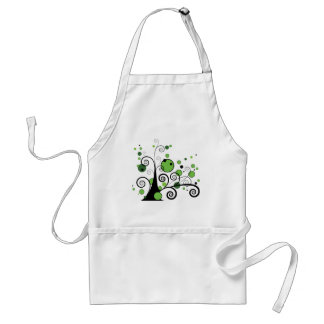 Abstract Tree Adult Apron