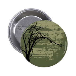 Abstract Tree Art Buttons