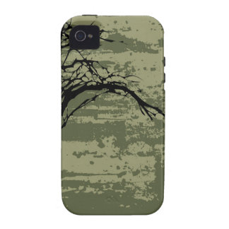 Abstract Tree Art iPhone 4/4S Cases