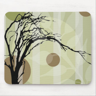Abstract Tree Art Mouse Pads