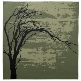 Abstract Tree Art Napkins